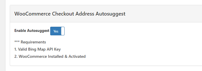 Woocommerce Checkout Suggestion Address – New in 3.0.12